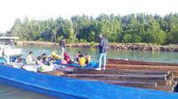 Penangkapan kayu ilegal di Tarakan Kalimantan Utara