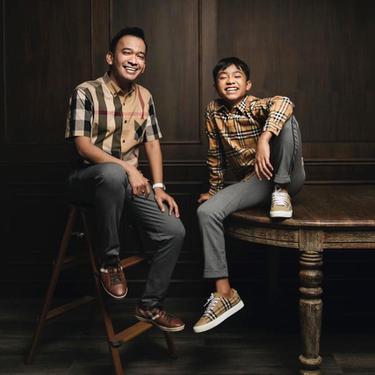 Ruben Onsu dan Betrand Peto. (Foto: Instagram @ruben_onsu)