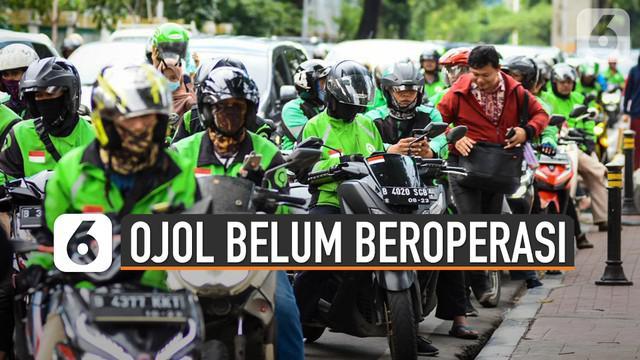 Ternyata pengendara ojek online di kota Depok, Jawa Barat belum diperbolehkan mengangkut penumpang. Hal ini terjadi karena kota Depok masih menerapkan PSBB Proporsional hingga 2 Juli 2020.
