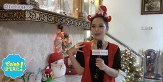 Seperti ini persiapan Natal di rumah Yuanita Christiani.