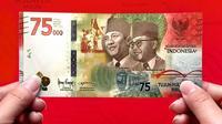 BI hari ini meluncurkan uang baru edisi 75 Tahun Indonesia Merdeka. | dok. instagram.com/cutteristic
