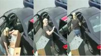 Seorang wanita gagal mencuri rumah boneka berharga ribuan dolar karena mobilnya terlalu kecil untuk membantu kejahatan. (Sumber Kingsport Police Department)