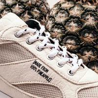 Mercer Amsterdam merilis koleksi sneakers yang terbuat dari daun nanas. (Foto: instagram.com/merceramsterdam)
