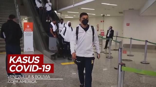 Berita Video, Beberapa Pemain Venezuelan dan Bolivia Terinfeksi Covid-19 Jelang Copa America