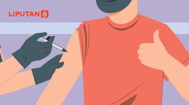 Banner Infografis Ayo Jangan Ragu, Vaksin Covid-19 Dipastikan Aman. (Liputan6.com/Abdillah)