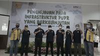 Dirjen Perumahan Kementerian PUPR melakukan penghijauan pada Infrastruktur PUPR di 23  Rusun di Indonesia. (Istimewa)