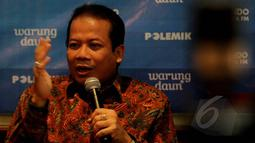 Menurut Taufik di usia yang ke 100 hari, Jokowi dinilai masih gagal dalam mengolah pemerintahannya. Hal itu terlihat saat Jokowi tak bisa mengambil ketegasan untuk menyelesaikan polemik antara KPK-Polri, Jakarta, Sabtu (7/2). (Liputan6.com/Johan Tallo)
