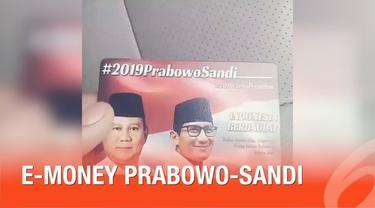 Beredarnya kartu e-money dengan foto Prabowo-Sandiaga Uno di media sosial mendadak viral. TKN Jokowi-Ma'ruf melalui ketua TKN Erick Tohir akhirnya menyampaikan tanggapannya.