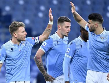 FOTO: 5 Pemain Asli Italia dalam Skuat Lazio Musim 2020/2021 - iCiro Immobile; Tim Lazio