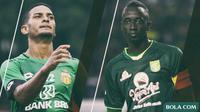 Trivia - Pemain Makan Konate dan Renan Silva (Bola.com/Adreanus Titus)