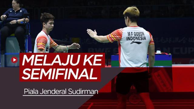 Berita video pertarungan antara Indonesia menghadapi Chinese Taipei pada babak perempat final Piala Sudirman 2019. Indonesia akan bertemu Jepang di semifinal.