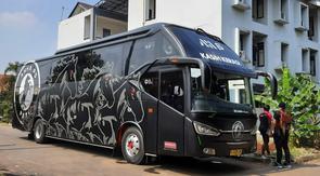 Bus pribadi AHHA PS Pati (Istimewa)