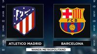 La Liga - Atletico Madrid Vs Barcelona (Bola.com/Adreanus Titus)