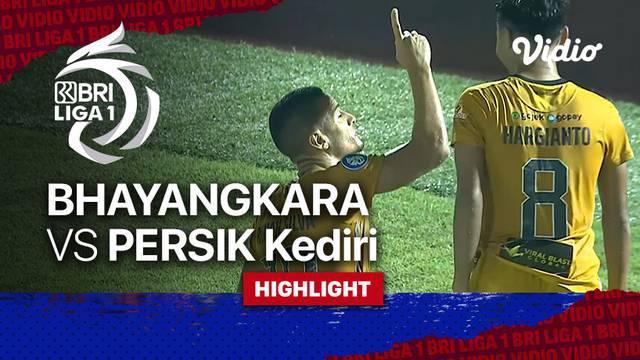 Berita Video, Highlights Pertandingan Bhayangkara FC Vs Persik Kediri pada Rabu (29/9/2021)
