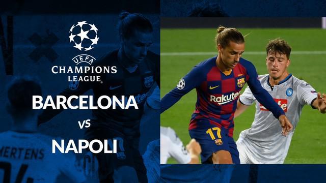 Berita motion grafis statistik Barcelona vs Napoli pada lanjutan Liga Champions 2019-2020 leg kedua, Minggu (9/8/2020). Lionel Messi cetak 1 gol pada laga ini.