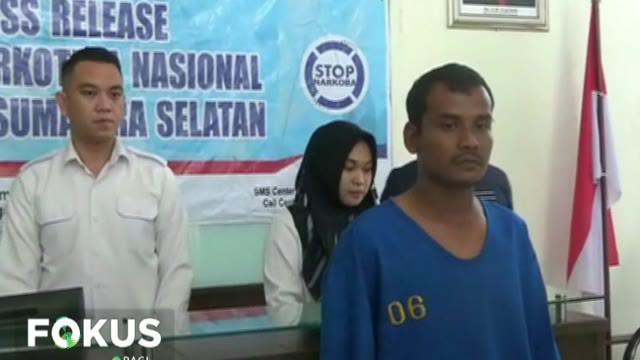 Sabu tersebut dibawa langsung dari Medan ke Palembang dengan menggunakan bus antarlintas provinsi. Tersangka dibekuk petugas BNN karena informasi dari warga.