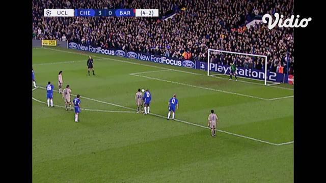 Berita Video flashback Liga Champions, Jose Mourinho bawa Chelsea raih kemenangan 4-2 atas Barcelona usai drama 5 gol babak pertama