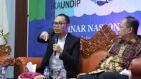 Ketika berada Universitas Diponegoro Semarang, Menaker Hanif Dhakiri menyinggung tentang sistem industri perikanan dan kesejahteraan nelayan,