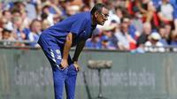Manajer Chelsea asal Italia, Maurizio Sarri. (AFP/Ian Kington)