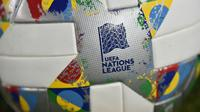 Logo UEFA Nations League. (AFP/Ozan Kose)