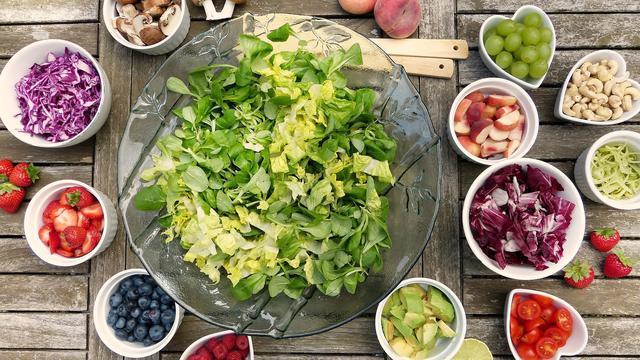 Ilustrasi Makanan Vegetarian