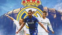 Real Madrid - Michael Owen, Dominic Calvert-Lewin, David Beckham (Bola.com/Adreanus Titus)