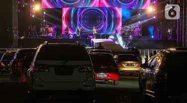 FOTO: Kemeriahan Konser Drive-In di Hari Kedua