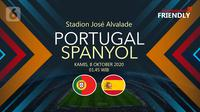 Portugal vs Spanyol (Liputan6.com/Abdillah)