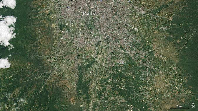 009926100 1538549176 palu 4 - NASA Rilis Foto Satelit Gempa dan Tsunami Palu yang Membut Ilmuwan Dunia Kebingungan