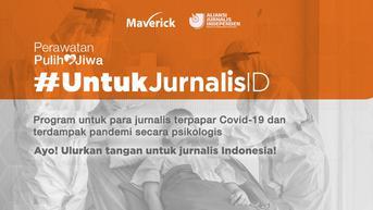 Program #JurnalisID Bantu 192 Jurnalis Indonesia Hadapi Pandemi Covid-19