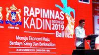 Ketua MPR RI Bambang Soesatyo pembukaan Rapat Pimpinan Nasional (Rapimnas) Kamar Dagang dan Industri Indonesia (KADIN Indonesia) oleh Wakil Presiden KH Ma'ruf Amin, di Bali, Jumat (29/11/19).