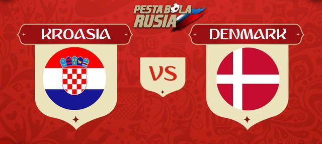 Berita video head-to-head Piala Dunia Rusia 2018: Kroasia vs Denmark.