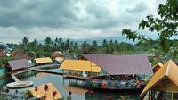 Pemandangan Gunung Tampomas terlihat dari Tampomaspark (Dok.Instagram/@https://www.instagram.com/p/BjPV_M1FyiY/Komarudin)