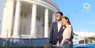 Resmi menjadi pasangan suami istri, ini konsep pernikahan sederhana ala Petra dan Firrina