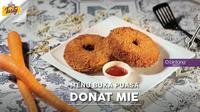 Jadi menu kekinian yang lagi viral, ini resep menu buka puasa Donat Mie yang bisa kamu buat sendiri di rumah. (Foto: Bintang.com/Daniel Kampua, Digital Imaging: Bintang.com/Muhammad Iqbal Nurfajri)