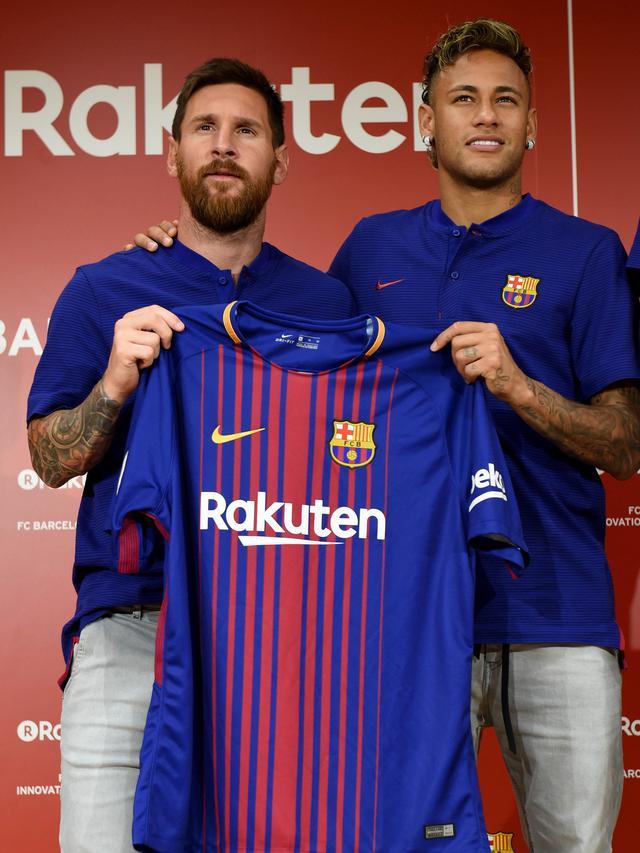 Barcelona, La Liga, Lionel Messi, Jersey Baru