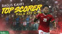 Top scorer Piala AFF U-16 2018, Bagus Kahfi. (Bola.com/Dody Iryawan)