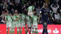 Selebrasi pemain Real Betis saat kalahkan Real Madrid (AP)