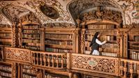 Keindahan Perpustakaan Waldsassen Abbey (sumber: bavaria)
