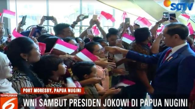 Presiden Joko Widodo berada di Papua NEW Guinea untuk menghadiri Konferensi Tingkat Tinggi (KTT APEC).