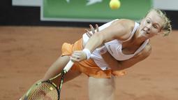 Kiki Bertens terjun ke tenis profesional pada tahun 2009. (AFP/Jean-Francois Monier)