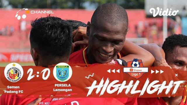 Laga lanjutan #Shopeeliga1, #SemenPadang VS #PSISSemarang di Stadium H. Agus Salim, Padang pada hari selasa malam hari (20/08/2019...