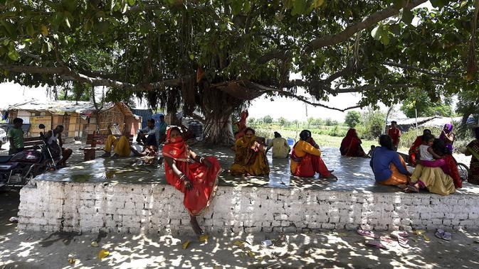 FOTO: Selain Corona, India Hadapi Gelombang Panas dan Krisis Air Bersih