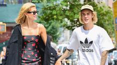Hailey Baldwin - Justin Bieber. (Foto: usmagazine.com)