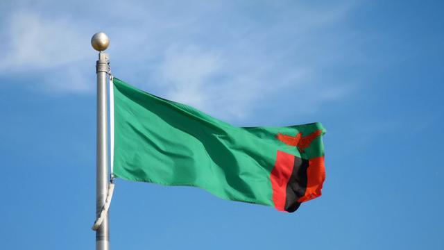 Bendera nasional negara Zambia (AP)
