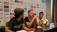 Pelatih PSMS Medan, Peter Butler, kecewa karena laga tunda pekan ke-25 melawan PS Tira tidak digelar di Stadion Telandan. (Istimewa)