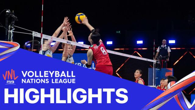 Berita Video Volleyball Nations League, Tim Putri Jepang Vs Italia 3-2 Rabu (2/6/2021)