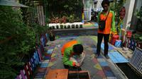 Upaya pencegahan penyakit demam berdarah dengue (DBD) di Surabaya, Jawa Timur. (Foto: Liputan6.com/Dian Kurniawan)