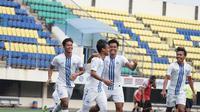 Duel uji coba antara PSIS Semarang melawan Sulut United di Stadion Citarum, Semarang, Sabtu (21/8/2021). (Dok PSIS)