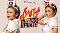 HL Hottest Update Nikita Mirzani (Fotografer: Nurwahyunan/Bintang.com)